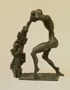 Dichter im Park, 1995, 32 cm