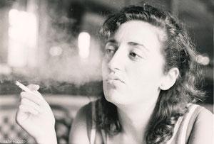 En el Café Parisién. Cádiz, 1984 (fotografía de Rafael Ramírez Escoto)