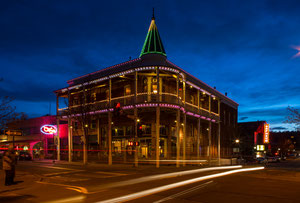 The Hotel Weatherford in Flagstaff, Arizona (Route 66)