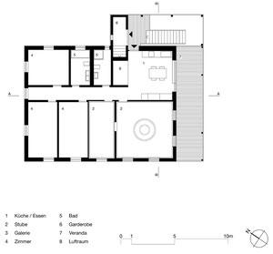 Haus zum Löwen Romanshorn: Obergeschoss