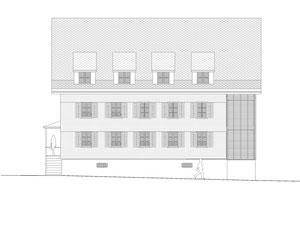 Haus zum Löwen Romanshorn: Südfassade