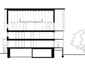 Haus zum Löwen Romanshorn: Schnitt AA