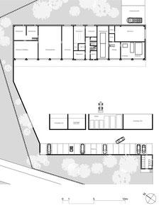 Werkhof Kesswil: Erdgeschoss