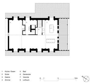 Haus zum Löwen Romanshorn: Dachgeschoss