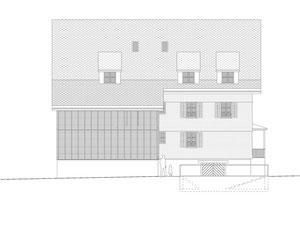 Haus zum Löwen Romanshorn: Nordfassade