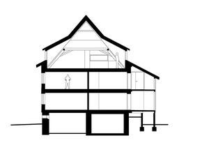 Haus zum Löwen Romanshorn: Schnitt BB