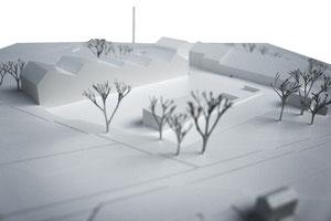Werkhof Kesswil: Situationsmodell