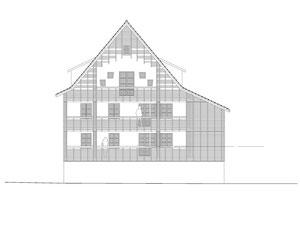 Haus zum Löwen Romanshorn: Ostfassade