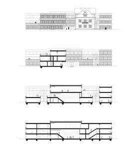 Campus Kreuzlingen: Schnitte und Fassaden
