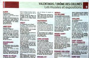Dauphiné Libéré : Guide de l'été.