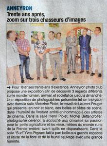 Dauphiné Libéré 19 juillet 2014 Locale express