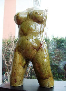 matipö, venus, torso, female, 28 cm