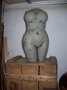 Frau Grau, ca. 60 cm
