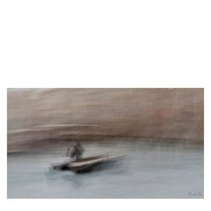 der Mann am Steuer - Venedig