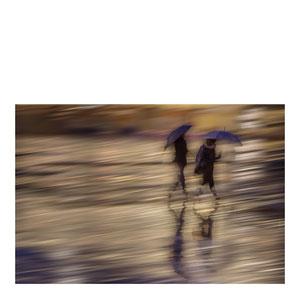 Spaziergang im Regen