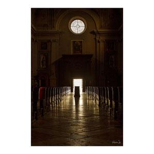 Kirchenlicht in Soave