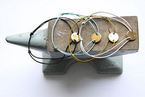 'GOLD DOT'  Armbänder