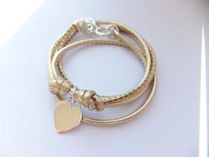 'HEART LINE'  Armband