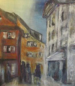 """""""Altstadtflair I""""  - 80 x 80"""