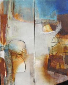 """""""Inspiration I und II"""" - 100 x 80"""