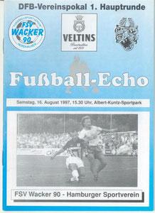 16.08.1997:DFB-Pokal:Wacker Nordhausen-HSV