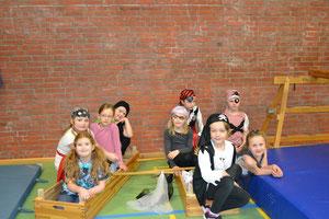 Die Piraten bei der Vorführung