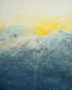 glacier  | 100 cm x 80 cm | 2014 | Acryl auf Leinwand | © Hansjörg Zimmer
