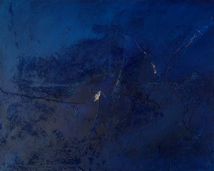 deep blue | 80 cm x 100 cm | 2006 | Acryl auf Leinwand | © Hansjörg Zimmer