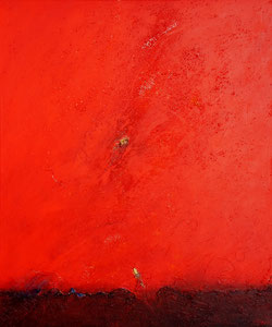 Horizont 3 | 120 cm x 100 cm | 2009 | Acryl auf Leinwand | © Hansjörg Zimmer