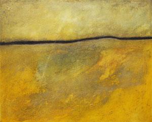 Horizont 1 | 80 cm x 100 cm | 2007 | Acryl auf Leinwand | © Hansjörg Zimmer
