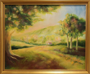 "Virginia Meadow  oil  16"" x 20"" $285"