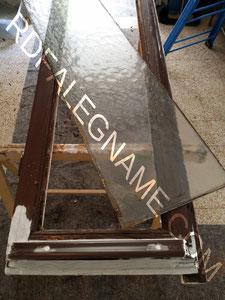 Rimozione del vetro della Finestra da sostituire