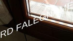 Doppio Vetro installato e con Sigillatura dal lato esterno