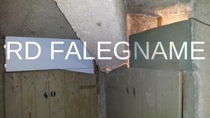 Chiusura con Copertura in Legno della parte superiore della Porta del Solaio - Cantina