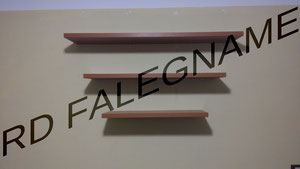 Fornitura e Posa di Nuove Mensole con Fissaggio a muro dei Tasselli a Scomparsa
