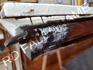 Porta-Finestra con la Fascia in Legno distaccata