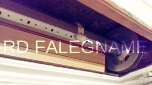 Nuovo Rullo Completo di Puleggia e Calotta della Tapparella messo in opera
