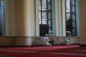 Turquie Istanbul, la mosquée bleue