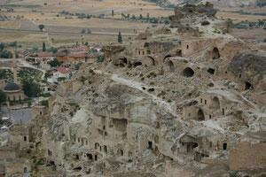 Turquie, Cappadoce, maison troglodyte de Gorem