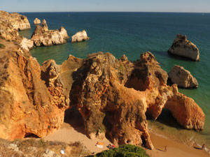Portugal, Algarve, Plage de Alvor