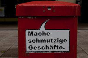 Hamburgs witzige Mülleimer