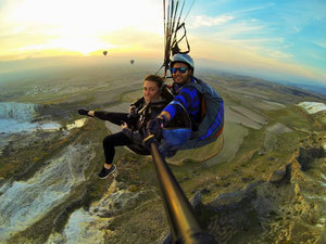 Paragliding in Turkey