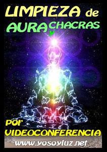 Sesión para limpiar tu aura de energías negativas y alinear tus chacras.