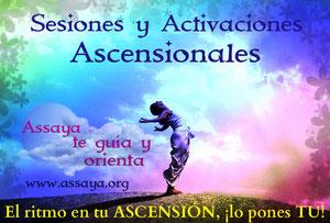 Sesiones y Activaciones ESPIRITUALES y ASCENSIONALES con Seres de Luz Ascendidos.
