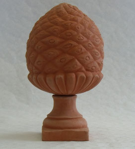 Pigne moyen modèle D hauteur avec pied environ 50 cm hauteur sans pied environ 31 cm diamètre environ 25 cm