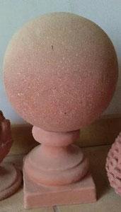 Boule en 2 éléments hauteur 32 cm