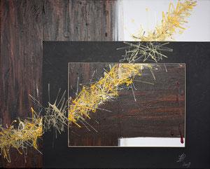 Passion, Acryl auf Leinwand, 40x50cm., 470.-
