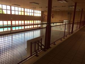 Geländer: Mehrzweckhalle Aegerten