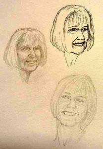 Skizzen   über Susanne