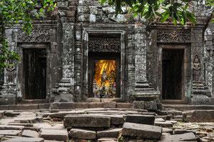 Buddhas später Einzug